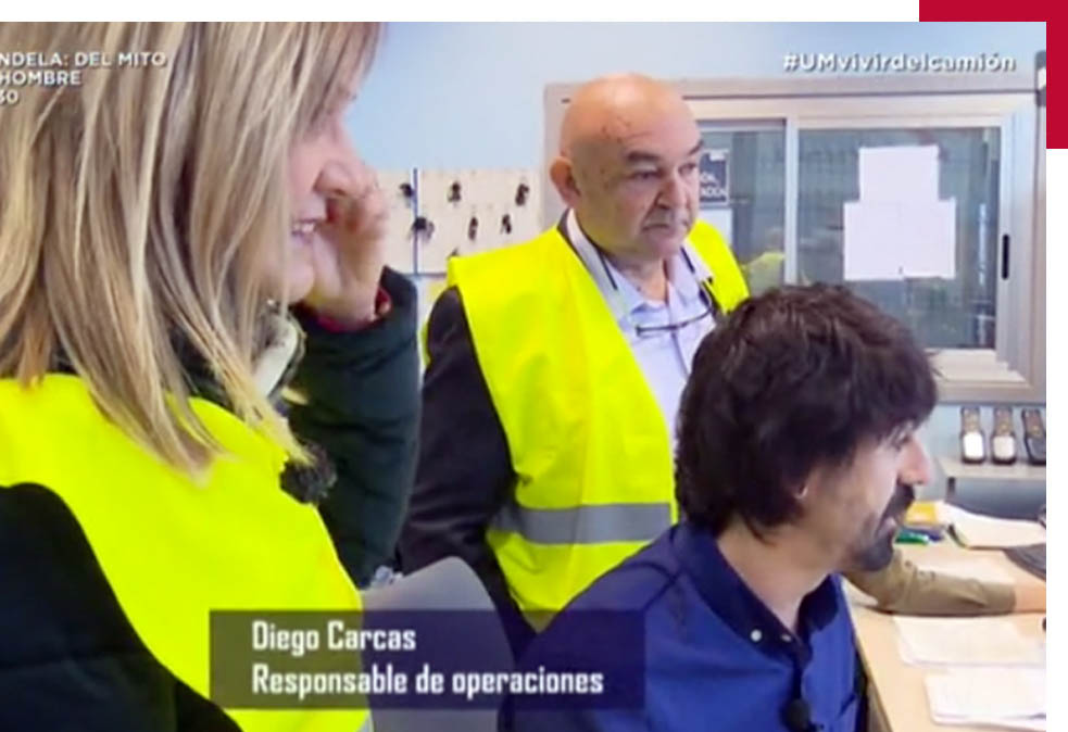 """Cotrali Actualidad - Programa """"Vivir del Camión"""" de Unidad Móvil (Aragon TV)"""